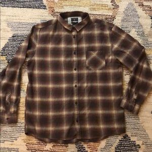 Quicksilver flannel shirt New with tags